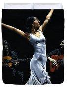 Finale Del Funcionamiento Del Flamenco Duvet Cover