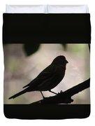 Finch Shadow 042814d Duvet Cover