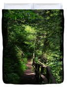 Finding The Right Path Duvet Cover
