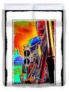 Fine Art Chopper I Duvet Cover by Mike McGlothlen