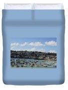 Fine Art - St Ives Harbour Duvet Cover