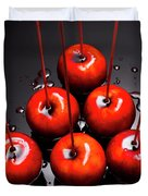 Fine Art Toffee Apple Dessert Duvet Cover