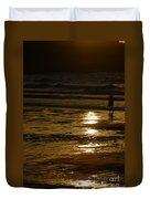 Fine Art- Waves Duvet Cover