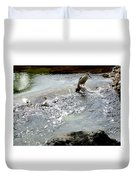 Fine Feathered Fisherman Duvet Cover