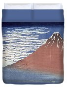 Fine Weather With South Wind Duvet Cover by Hokusai