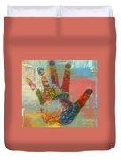 Finger Paint Duvet Cover