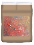 Finger Painting Duvet Cover