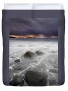 Fingers Of The Storm Duvet Cover