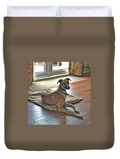 Finly - Ava The Saluki's New Companion Duvet Cover