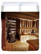 Finnish Sauna Duvet Cover
