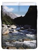 Fiordlands National Park Duvet Cover
