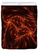 Fire Abstraction Duvet Cover
