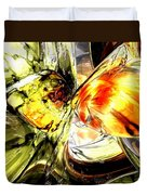 Fire And Desire Abstract Duvet Cover
