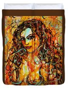 Fire And Desire Duvet Cover