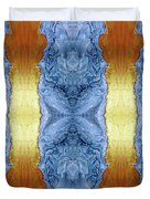 Fire And Ice - Digital 1 Duvet Cover