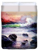 Fire And Water 1.0  Duvet Cover