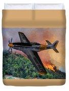 Fire Boss - Oil Duvet Cover