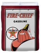 Fire-chief Sign Duvet Cover