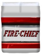 Fire-chief Duvet Cover