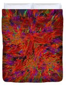 Fire Crystals Duvet Cover
