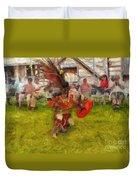 Fire Dance Duvet Cover