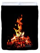 Fire Dancer Duvet Cover