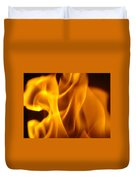 Fire Desires Art Fiery Hot New York Autumn Warmth Baslee Troutman Duvet Cover