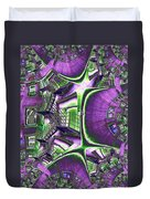 Fire Escape Fractal Duvet Cover