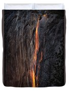 Fire Fall Duvet Cover