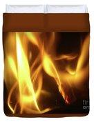Fire  Feuer Duvet Cover