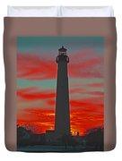 Fire Frames The Lighthouse Duvet Cover