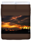 Fire From The North Duvet Cover