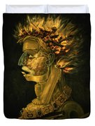 Fire Duvet Cover by Giuseppe Arcimboldo