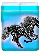 Fire Horse 5 Duvet Cover