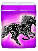 Fire Horse 7 Duvet Cover