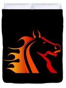Fire Horse Duvet Cover