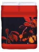 Fire In Hands  Duvet Cover