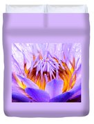 Fire In The Lily Duvet Cover