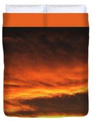 Fire In The Sky Two Duvet Cover