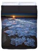 Fire Island Winter Duvet Cover