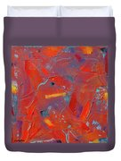 Fire Storm Duvet Cover