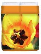 Fire Tulip Duvet Cover
