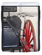 Fire Wagon Duvet Cover