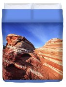 Fire Wave Duvet Cover by Chad Dutson