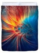 Fire Wind Duvet Cover