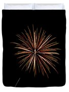 Fire Works Duvet Cover
