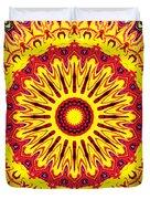 Fireball  Duvet Cover