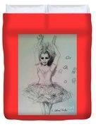 Firebird Duvet Cover