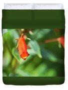 Firecracker Blossom Duvet Cover