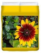 Firecracker Sunflower Duvet Cover